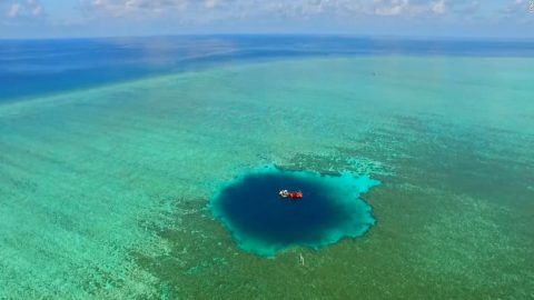 At 987 Feet Deep, World's Deepest Blue Hole Obliterates Old Record