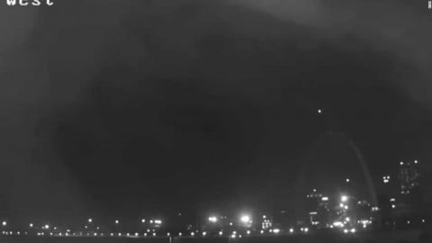 Mysterious Light Over Gateway Arch; Is It A UFO Or Something Else?