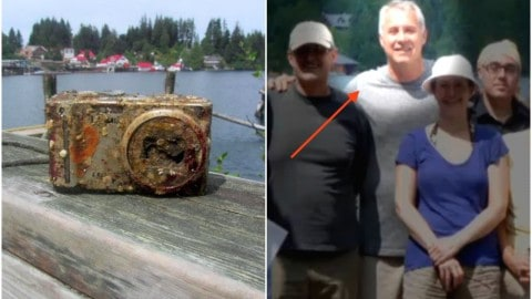 Camera Recovered After Two Years In The Ocean With Pictures Intact