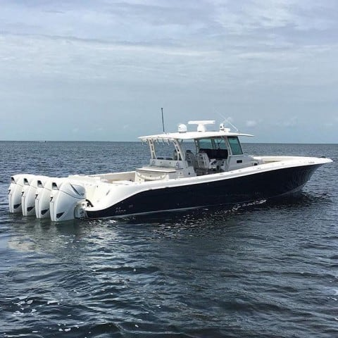 World's Largest Outboard Center Console Will Give Your Boat Self-Esteem Issues