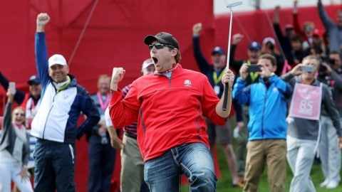 Heckler Gets Called Out At Ryder Cup To Make A Putt And Sinks It