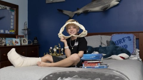 9-Year-Old Boy Attacked By Shark At Family Reunion