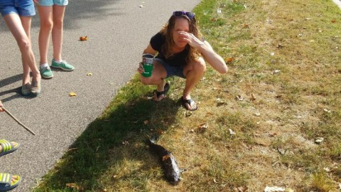 Woman Hit In The Face By Catfish That Fell From Sky