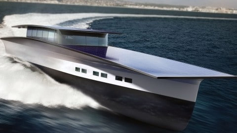 This Solar-Powered Yacht Runs On Alcohol And The Sun