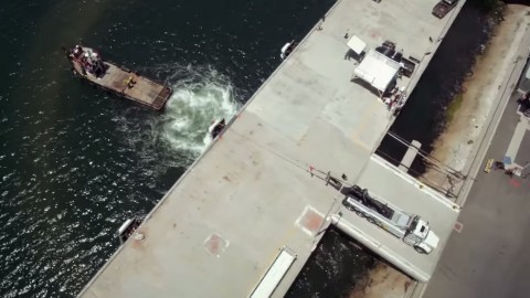 Truck Vs Tug Boat: Who Will Win This Tug of War?