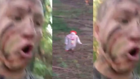 "Bow Hunter Videos Knife Carrying Killer Clown in Woods; ""I Thought I Was About to Shoot a Clown"""