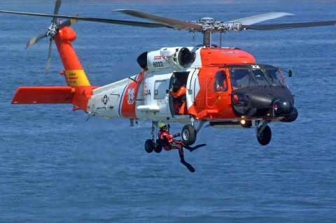 Daring Coast Guard Rescue of Fishing Boat's Captain Experiencing Chest Pain at Sea