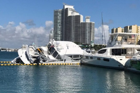 Thief Steals $3.2 Million Yacht, Immediately Sinks It In Marina