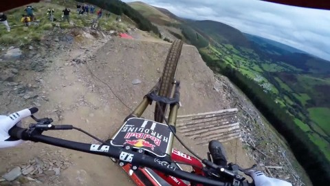 Terrifying GoPro Video Shows Mountain Biker Zooming Through Forest
