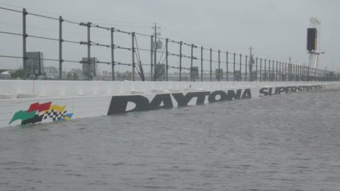 Hurricane Matthew Blasts, Shuts Down Daytona International Speedway; Photo Goes Viral For All of the Wrong Reasons