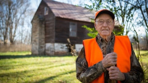 Country's Oldest Hunter Takes Impressive Buck at 103 Years-Old