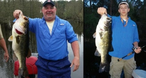 "Bienville Plantation Produces Father Son Memories and ""Dream 10-Pound Bass"""