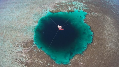 The World's Deepest Blue Hole is 987 Feet and Could Swallow the Eiffel Tower