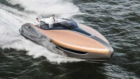 Lexus's 885 Horsepower Yacht Seeks to Blend Performance and Luxury