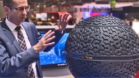 Goodyear's Future Tires are Basically a Giant Ball of Rubber
