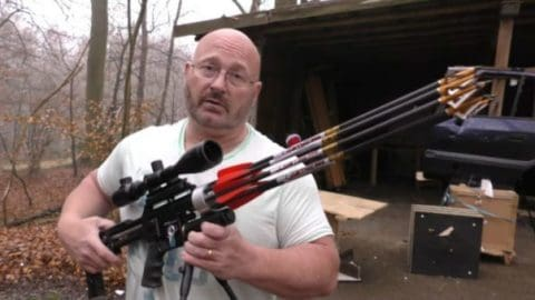 This is the 'Arrow Gun Revolver' and We Want It…Bad