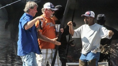 Tournament Angler Wins Boat, Gives it to Dock Fisherman