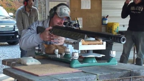 The World's Largest Caliber Rifle Kicks So Hard it Could Knock Down a Door