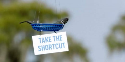 Fishing Shortcut – This Brand's Stunt Makes These Fishermen's Days Easier