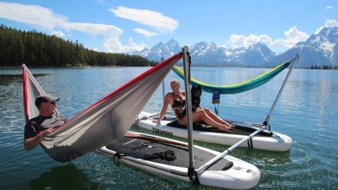 The Hammocraft Let's You Hammock Anywhere, Anytime