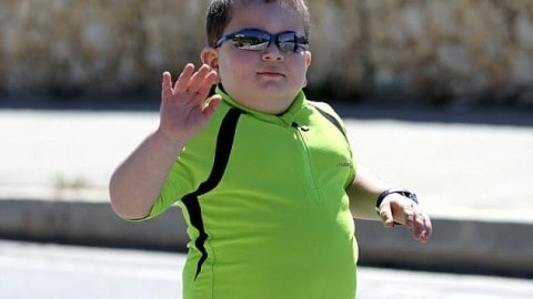 Rare Disease Forces This 8-Year-Old to Run Triathlons Just to Survive