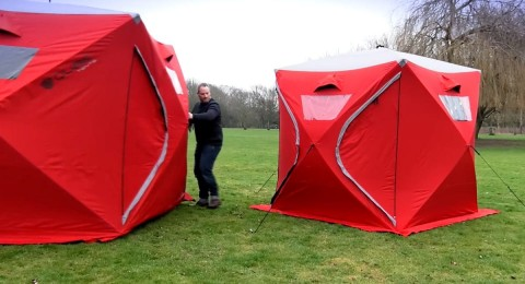Family Camping Trips Are About to Get a Whole Lot Better With This Incredible Tent