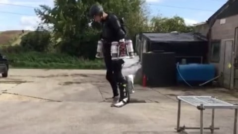 Inventer Builds and Tests Epic Flight Suit Prototype, but is it Real?
