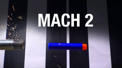 VIDEO: NERF Dart Breaks the Sound Barrier