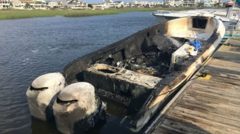 Boat Explosion Injures 3 after Gas Was Pumped into Fishing Rod Holder
