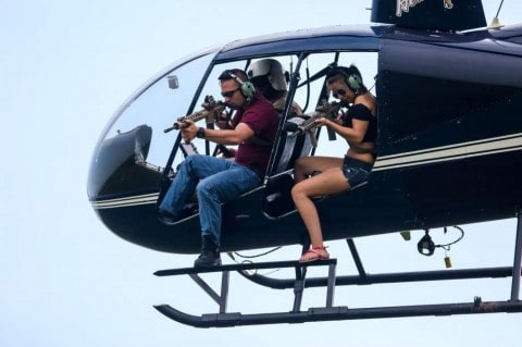 Company Lets You Shoot Feral Hogs from a Helicopter with an M16 for $35,000