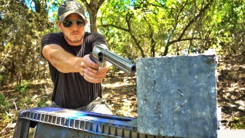 VIDEO: How Strong Is a Chunk of Lead? Let's Shoot It to Find Out!