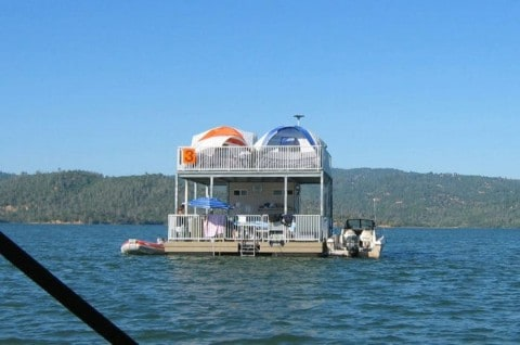 These Floating Campsites Will Make You Want to Give up on Traditional Camping