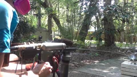 VIDEO: Insane Molten Metal Squirt Gun Will Melt Your Face Off