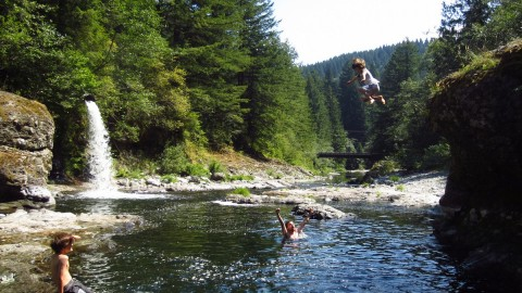 Awesome Dude Buys Swimming Hole and Re-Opens It to the Public