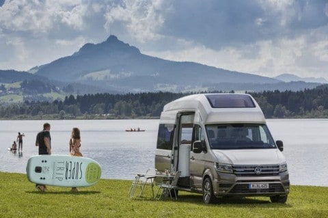 Travel the World in Style with Volkswagen's New California XXL