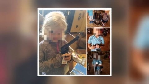 Parents up in Arms After Preschool Takes Children to Gun Range