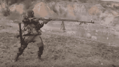 VIDEO: This Is What It Looks Like To Shoulder Fire An Anti-Tank Rifle