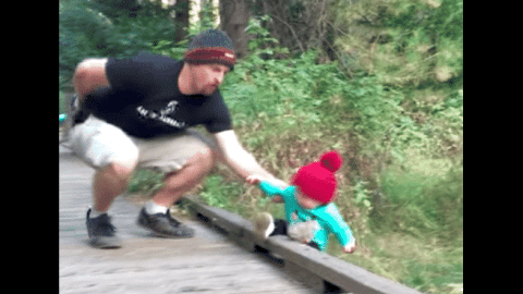 VIDEO: Dad Saves Daughter From Falling Off Bridge With An Epic Catch