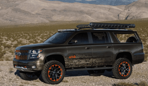 Chevy Builds Luke Bryan Suburban Concept For Huntin', Fishin' And Everything Outdors