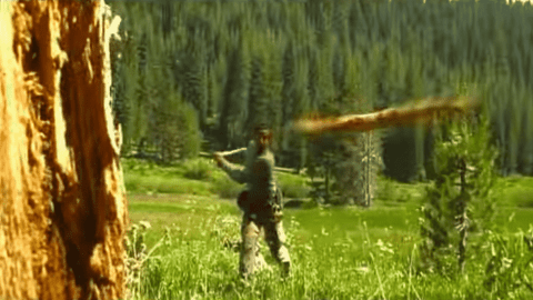 Watch Bear Grylls Execute The Most Epic Rabbit Kill Of All Time