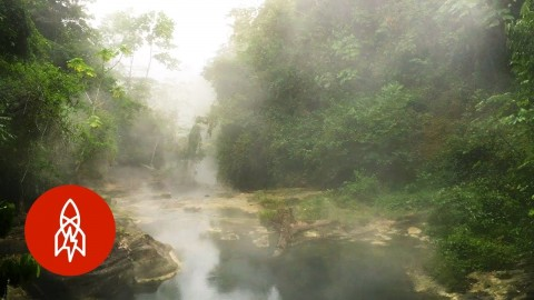 This Boiling River Is So Hot That Nothing Can Survive It