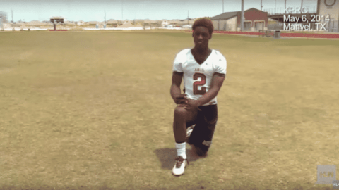 One-Man Team: Teen Catches His Own Hail Mary Pass