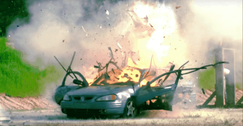 VIDEO: M2 .50 Cal Rips Car Apart And Blows Its Roof Off