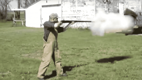 VIDEO: Firing A 4 Gauge Shotgun Is Like Getting Kicked By A Horse