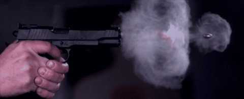 VIDEO: Pistol Shot At 73,000 Frames Per Second Is Out Of This World