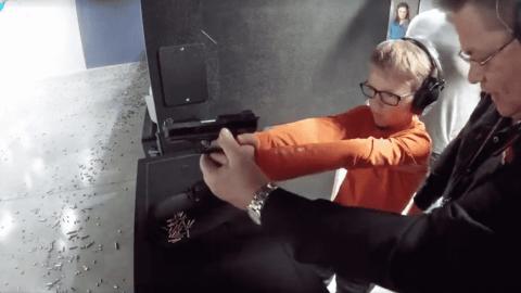 """""""First Shots"""" Program Teaches Kids How To Properly Handle A Gun"""