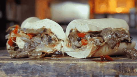 VIDEO: Venison Cheesesteaks Offer Sloppy, Delicious Goodness