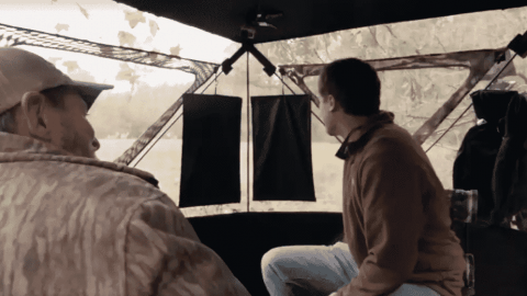 VIDEO: The 'SurroundView' Ground Blind Lets Hunters Say Goodbye To Blind Spots