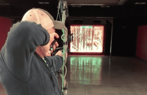 VIDEO: Incredible Hunting Simulator Lets You Practice With Your Actual Bow And Arrows