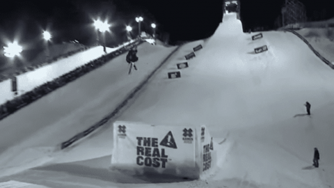 VIDEO: Henrik Harlaut Wins X Games Ski Big Air Gold By Turning Into A Whirling Dervish